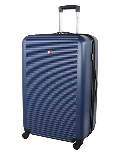 Swiss Gear Platthorn 28-Inch Hardside Spinner Suitcase-BLUE-28