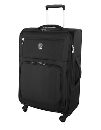 Atlantic Expandaire 24-Inch Spinner Suitcase-BLACK-24