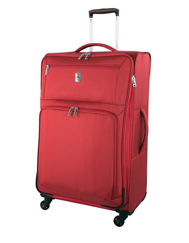 Atlantic Expandaire 28-Inch Spinner Suitcase-RED-28
