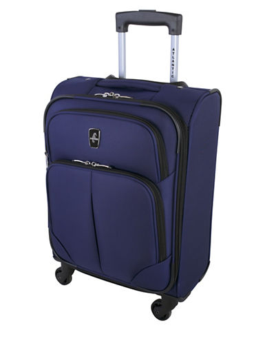 Atlantic Torres Carry-On Spinner Suitcase-BLUE-18