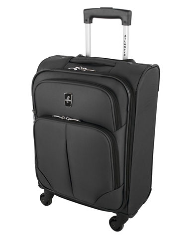 Atlantic Torres Carry-On Spinner Suitcase-GREY-18