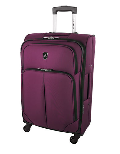 Atlantic Torres 24-Inch Spinner Suitcase-CRANBERRY-24
