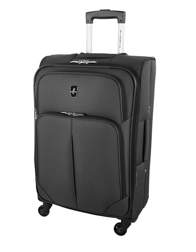 Atlantic Torres 24-Inch Spinner Suitcase-GREY-24
