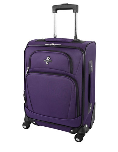 Atlantic Airwave Elite Carry-On Spinner Suitcase-PURPLE-18