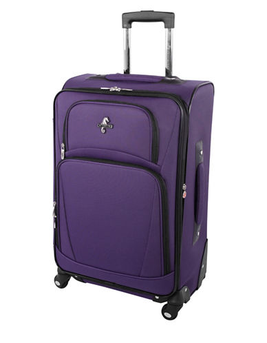Atlantic Airwave Elite 24-Inch Spinner Suitcase-PURPLE-24