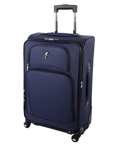 Atlantic Airwave Elite 24-Inch Spinner Suitcase-BLUE-24