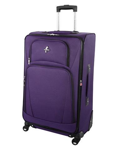 Atlantic Airwave Elite 28-Inch Spinner Suitcase-PURPLE-28