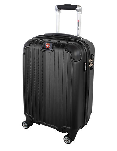 Swiss Wenger St. Moritz 2 Collection Carry-On Hardside Spinner-BLACK-20