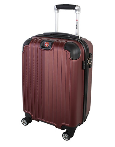 Swiss Wenger St. Moritz 2 Collection Carry-On Hardside Spinner-RED-20