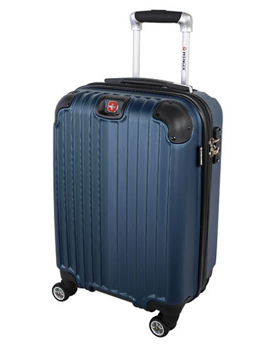 Swiss Wenger St. Moritz 2 Collection Carry-On Hardside Spinner-BLUE-20