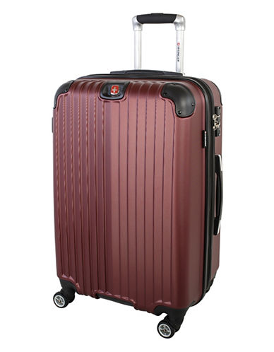 Swiss Wenger St. Moritz 2 Collection 24 Expandable Upright Hardside Spinner-RED-24