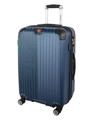 Swiss Wenger St. Moritz 2 Collection 24 Expandable Upright Hardside Spinner-BLUE-24