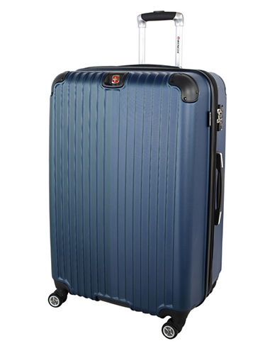 Swiss Wenger St. Moritz 2 Collection 28 Expandable Upright Hardside Spinner-BLUE-28