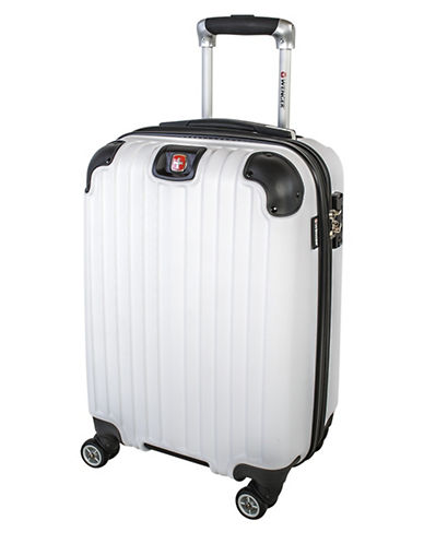 Swiss Wenger St. Moritz 2 Collection Carry-On Hardside Spinner-WHITE-20