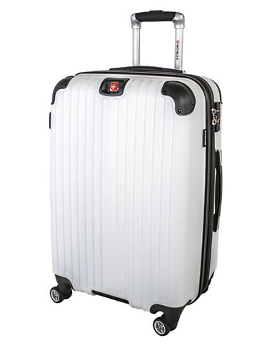 Swiss Wenger St. Moritz 2 Collection 24 Expandable Upright Hardside Spinner-WHITE-24