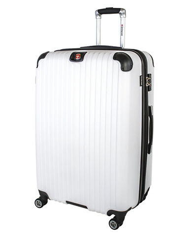 Swiss Wenger St. Moritz 2 Collection 28 Expandable Upright Hardside Spinner-WHITE-28