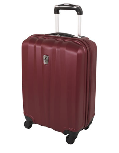 Atlantic AL15270 Carry-On Hardside Spinner-BURGUNDY-20