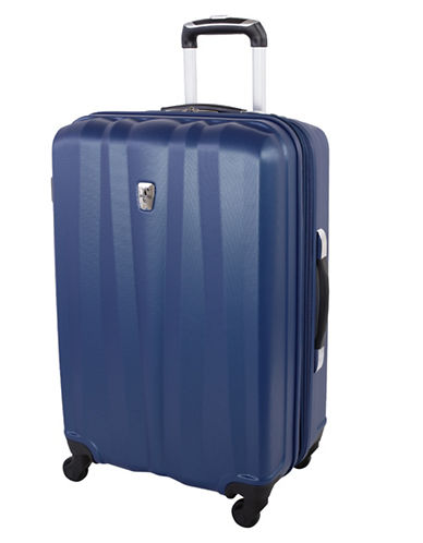Atlantic 24-Inch Expandable Upright Hardside Spinner-NAVY-24
