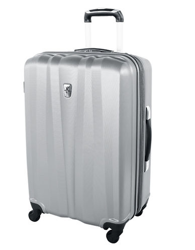 Atlantic 24-Inch Expandable Upright Hardside Spinner-SILVER-24