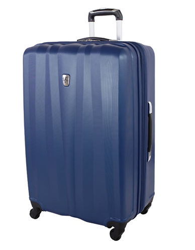 Atlantic 28 Inch Expandable Upright Hardside Spinner-NAVY-28