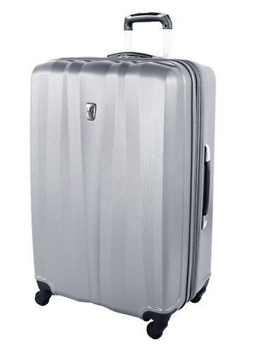 Atlantic 28 Inch Expandable Upright Hardside Spinner-SILVER-28