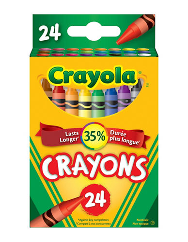 Crayola 24-Piece Regular Crayon Set-MULTI-One Size