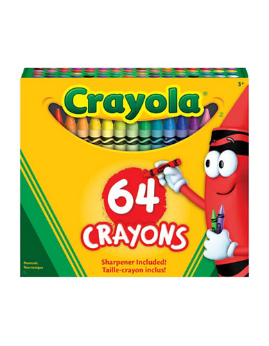 Crayola 64-Piece Crayon Set-MULTI-One Size