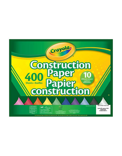 Crayola Assorted Construction Paper-MULTI-One Size