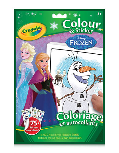 Crayola Princess Colour and Sticker Book-MULTI-One Size