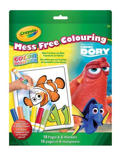 Crayola Finding Dory Colour Wonder Kit-MULTI-One Size