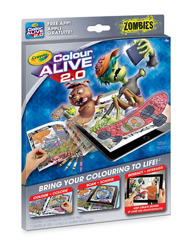 Crayola Colour Alive 2.0 Zombies-ASSORTED-One Size