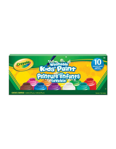 Crayola 10-Piece Washable Paint Set-MULTI-One Size