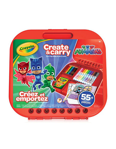 Crayola Create and Carry Case, PJ Masks-MULTI-COLOURED-One Size