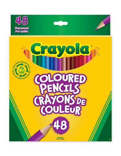 Crayola 48-Pack Coloured Pencils-MULTI-One Size