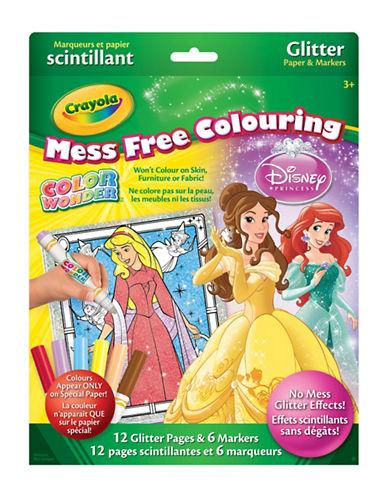Crayola Princess Glitter Colour Wonder Kit-MULTI-One Size