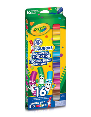 Crayola 16-Pack Pip Squeaks Markers-MULTI-One Size