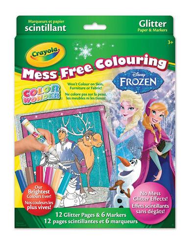 Crayola Frozen Glitter Colour Wonder Kit-MULTI-One Size