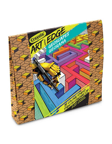 Crayola Art with Edge Geoscapes Colour Studio-ASSORTED-One Size