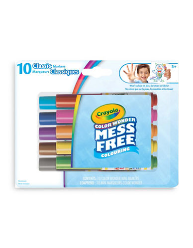 Crayola Colour Wonder Mini Classic Markers-ASSORTED-One Size