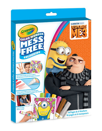 Crayola Despicable Me Colour Wonder Kit-MULTI-One Size