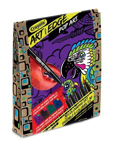 Crayola Art With Edge Pop Art Kit-MULTI-COLOURED-One Size