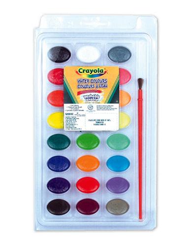 Crayola Washable Watercolour Pods-MULTI-One Size