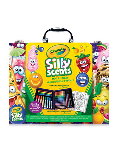 Crayola Silly Scents Mini Inspiration Art Case-MULTI-COLOURED-One Size