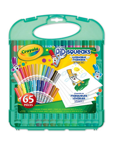 Crayola Pip Squeaks Marker and Paper Set-MULTI-One Size