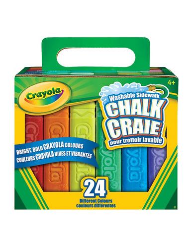 Crayola 24-Piece Chalk Set-MULTI-One Size