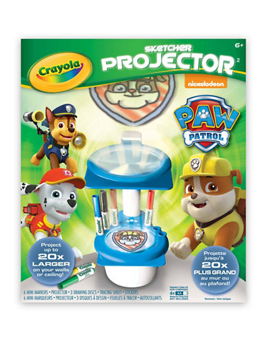 Crayola Paw Patrol Sketcher Projector-MULTI-One Size