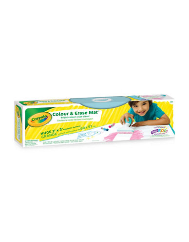 Crayola Colour and Erase Mat-ASSORTED-One Size