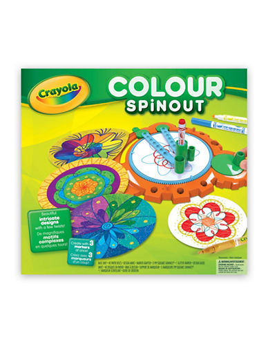 Crayola Colour Spinout Set-MULTI-One Size