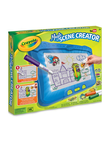 Crayola Magic Scene Creator-MUTLI-COLOURED-One Size