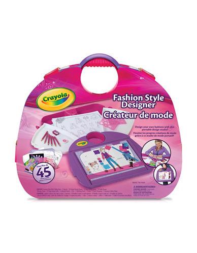 Crayola Fashion Style Designer-MULTI-One Size